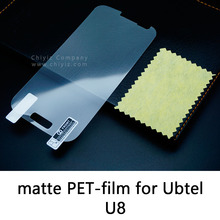 Glossy Clear Lucent Frosted Matte Anti glare Tempered Glass Protective Film On Screen Protector For Ubtel U8