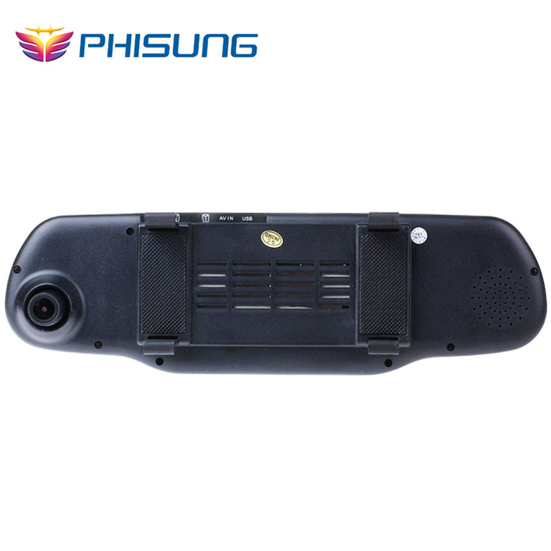 Phisung 5 0 Touch Dual Cam Car DVRS with 1GB RAM 8GB ROM WiFi FM GPS