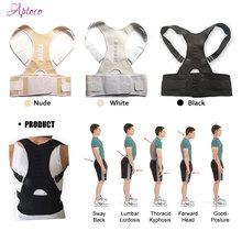 Réglable Magnétique Posture Correcteur Mâle Corset Retour Ceinture Redresseur Bande Brace Épaule Accolades et Supports pour Hommes Femmes(China (Mainland))