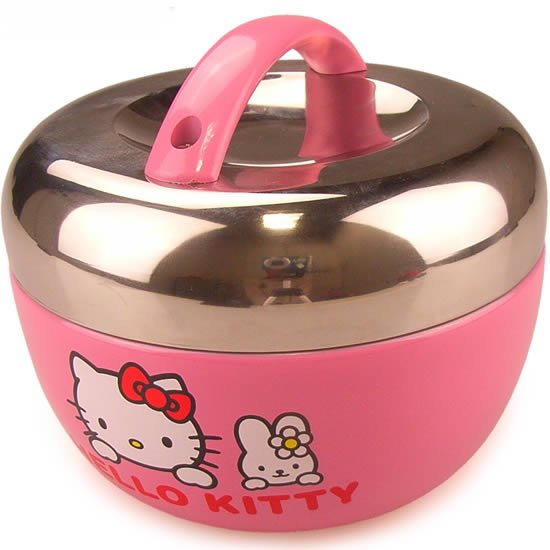 Free Shipping Hello Kitty Double Deck Lunch Box Stainless .