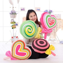 1 Piece Stuffed Plush Animals Lollipop Pillow Quilt Decoration Patchwork Doll Toy Christmas Gifts Movie Baby Toys Children(China (Mainland))