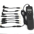 Timer Remote Shutter for Canon Nikon Sony Olympus with 8pcs Cable Cord DC175