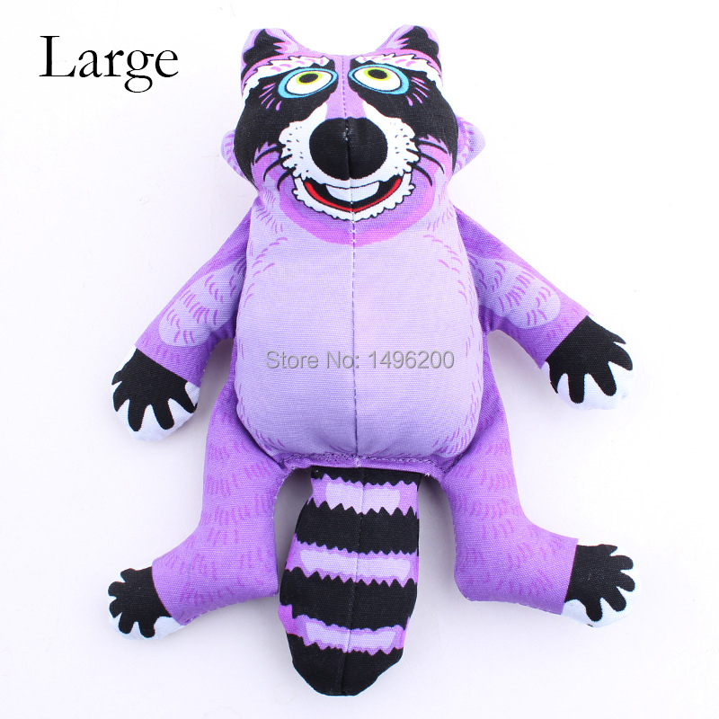 Hamster Dog Toys Bitten Large Purple Big Bell Mediator Black Eyes Grib Tags Linen Perro Grande Chaser Toy Fogs Pet Supplies Dog(China (Mainland))