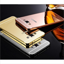 Buy Mirror Aluminum Metal Acrylic Phone Cover Case For Samsung Galaxy A3 A3100 A5 A5100 A7 J1 Mini J2 J3 J5 J7 A3 A5 2016 A7 Case for $2.99 in AliExpress store