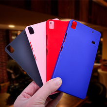 For Coque Lenovo A 7600 A7600 Case Colorful Matte Hard PC Frosted Shield Cover For Fundas Lenovo A7600 5.5