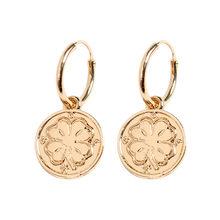 Vô tận đôi khuyên tai vòng cho nữ sụn chéo Khuyên tai trái tim vàng màu sắc đôi khuyên tai vòng Món quà trang sức dành cho bé gái(China)