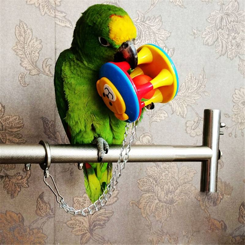 High Quality Parrot Chew Ball Colorful Pet Bird Bites Toy Cage Hanging For Parakeet Toy 3 Styles(China (Mainland))