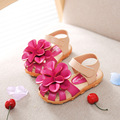 J G Chen Baby Girl Shoes Summer Sandals Soft PU Leather Anti slip Girls Shoes Princess