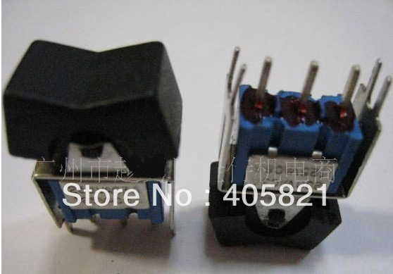 Miniature toggle switch,Rokcer Switch RLS-102/A MTS-1 MTS-102  double reset 6A 125VAC<br><br>Aliexpress