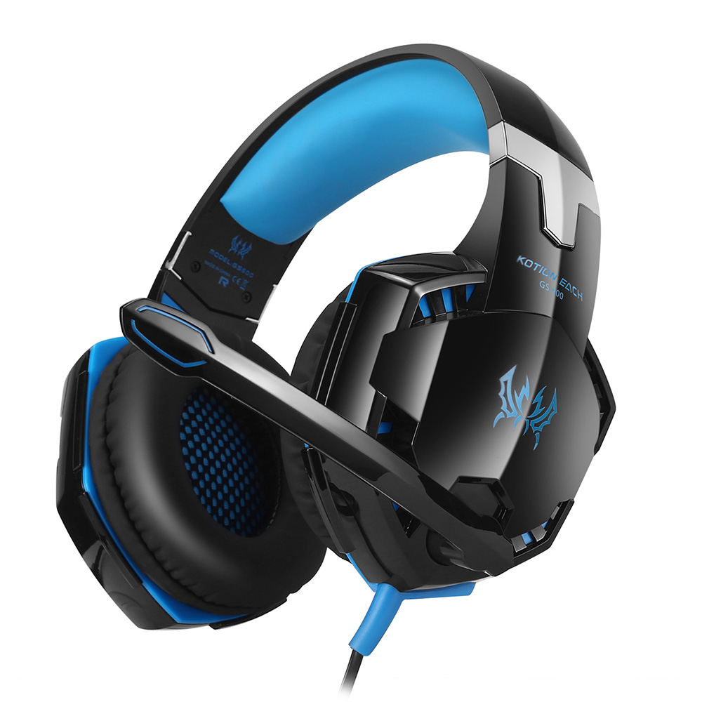 EACH GS600 Headphones Stereo Over-Ear Gaming Headset Headband Ear Phone With Microphone For XBOX 360 / PS3 / PS4 / PC Computer(China (Mainland))