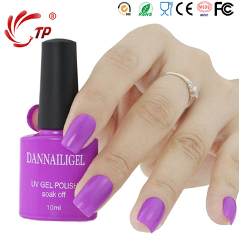Dannail #26 Party Purple 10second Speed Cure Nail Gel Polish 10ml Long Lasting Soak-Off UV Gel Varnishes Nails Art Beauty Tools
