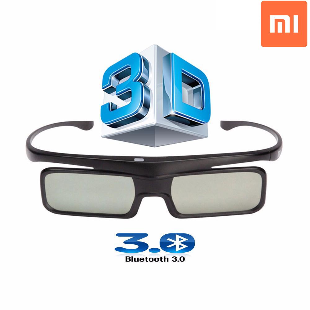 Original Xiaomi Bluetooth 3D Shutter Active Glasses for Samsung / Panasonic / Sony / Xiaomi TV Led 3D Smart Televisores(China (Mainland))