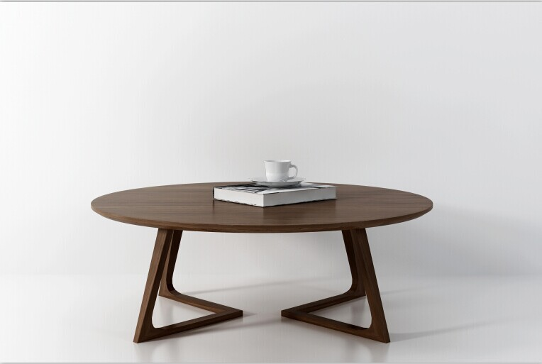 Nordic minimalist modern classic round coffee table for Furniture classics ltd coffee table
