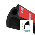 P Type 3M Car Door Seal Strip EPDM Noise Insulation Soundproofing Anti dust Sealing Strips Trim