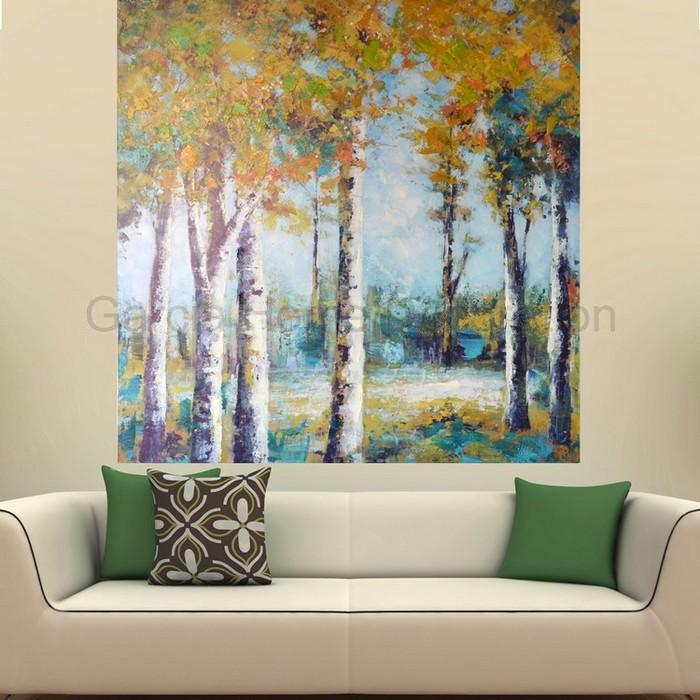 Paisajes on pinterest - Pinturas originales para dormitorios ...