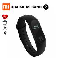 IN STOCK! 100% Original Xiaomi Mi Band 2 Miband Wristband Bracelet with Smart Heart Rate Fitness Touchpad OLED Screen