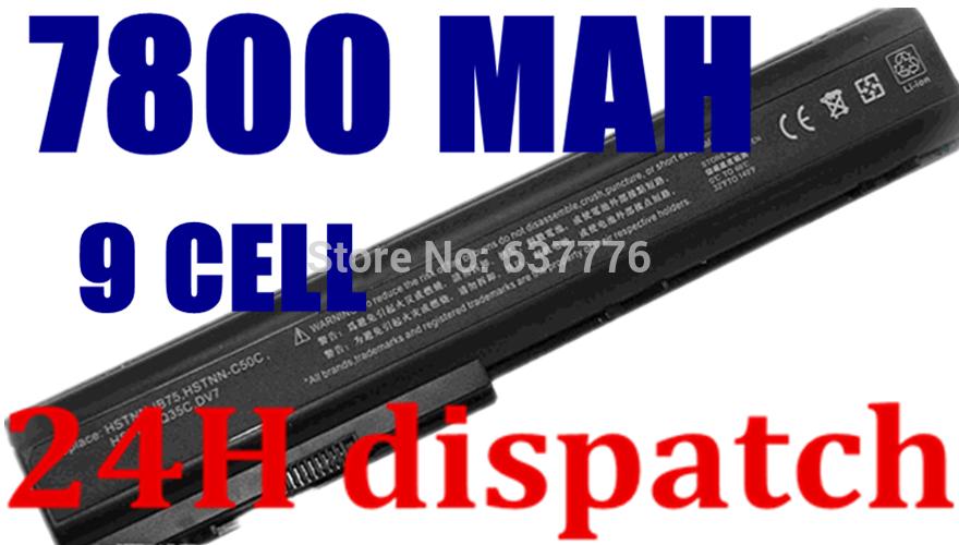 11.1v&10.8v laptop battery FOR HP DV7 464058-251 464059-121 464059-141 HSTNN-DB75 HSTNN-IB74 HSTNN-IB75 FREE SHIPPING(China (Mainland))