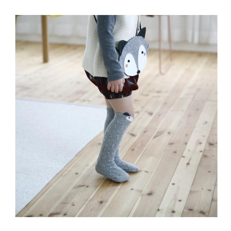 Baby Leg Warmers Cute Cartoon fox socks Brand Baby Boys