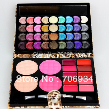 Eye shadow Palette Make up Foundation+ Blush+Lipstick 1pcs/lot Pro 50 Eyeshadow Makeup 8826