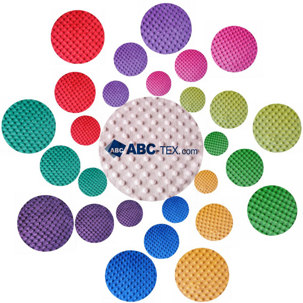 SAMPLE   minky dot sofa fabric furnishing fabric uphostery fabric Sold by 3M,Suitable for baby touch(China (Mainland))
