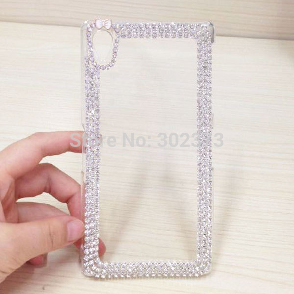 Чехол для для мобильных телефонов Crystal Diamond Case For Sony Xperia Z3 Bling Sony Xperia Z3 D6603 D6643 D6653 Sony Xperia Z3 For Sony Xperia Z3 D6603 D6643 D6653