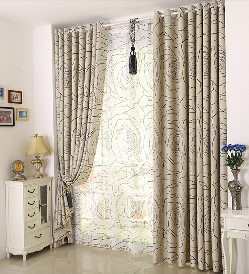 curtain living room curtain finished customizing windows in curtains