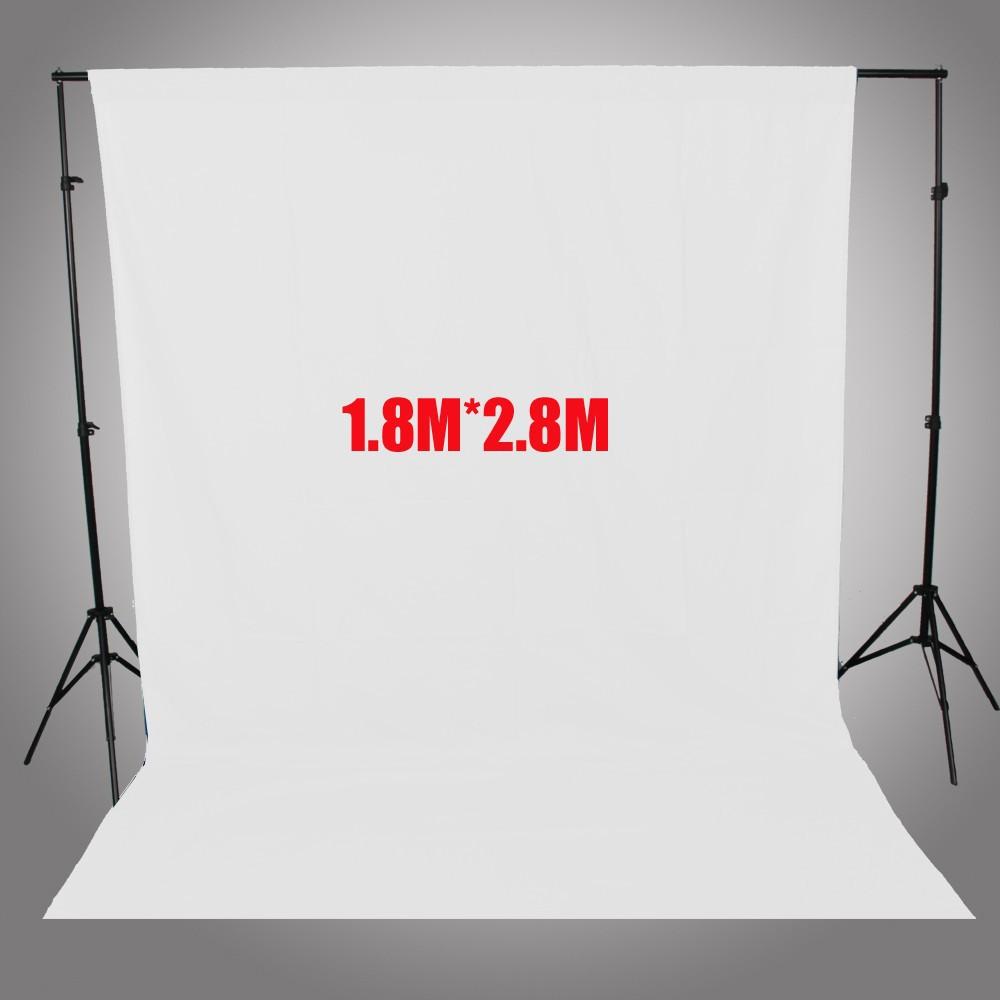 ถูก A SHANKSการถ่ายภาพฉากหลังสีขาวหน้าจอ1.8*2.8เมตรภาพพื้นหลังสำหรับสตูดิโอถ่าย6FT *ฟุตฉากหลังสำหรับกล้องFotografica