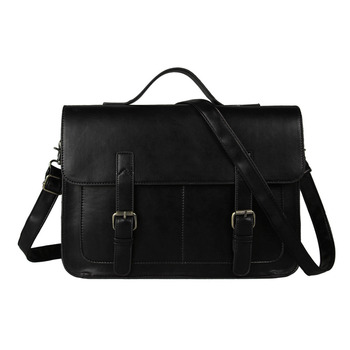 European style Document file Vintage Men Messenger Bags tote Elegant men's briefcases office men's crossbody bags