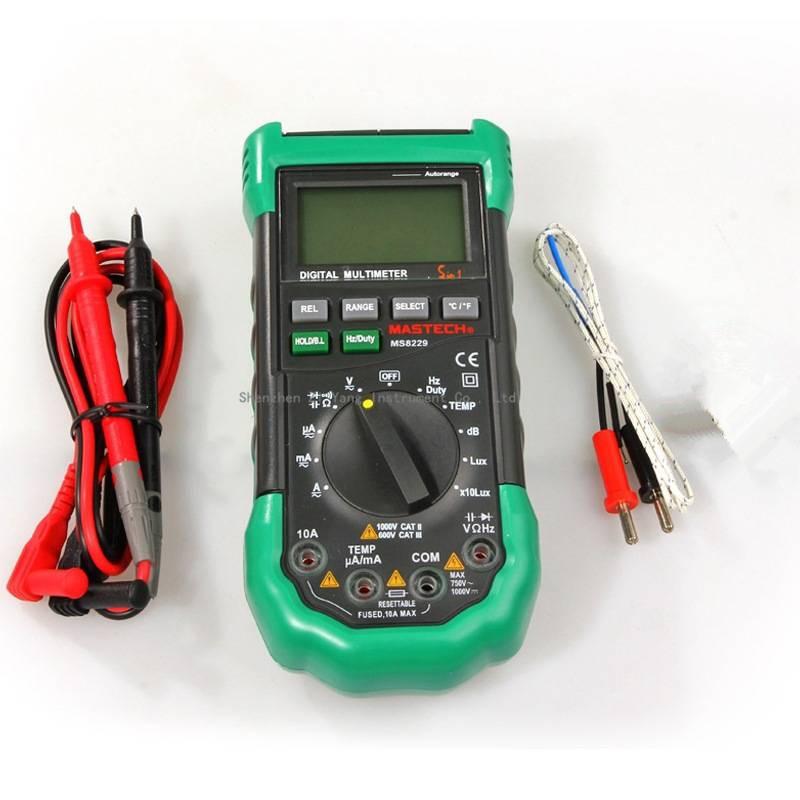 Multifunction Meter 96x96 : New mastech ms in auto range digital multimeter