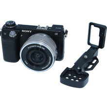 Buy Removable Metal L-shaped Vertical Shoot Tripod Ball Head Quick Release Plate/Camera Holder Bracket Grip Sony NEX 6 nex6 for $29.99 in AliExpress store