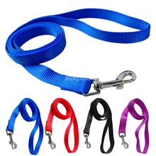 120cm Long High Quality Nylon Dog Pet Leash Lead for Daily Walking 1.0cm,1.5cm,2.0cm,2.5cm Width 4 Colors(China (Mainland))