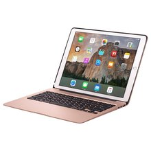 For Ipad Pro 12.9 Apple Keyboard Cases Wireless 7 Backlight Rose Gold Bluetooth 13 Inch Clamshell 5600Mah Power Bank Aluminum(China (Mainland))