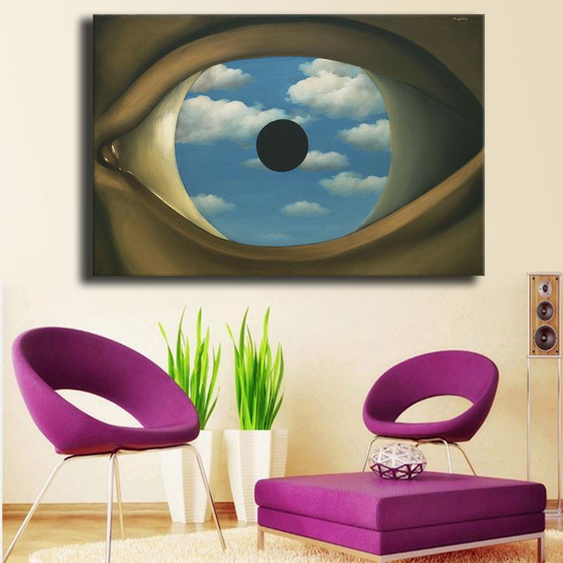 Acquista all 39 ingrosso online false immagini da grossisti - Falso specchio magritte ...