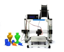 2015 High Quality Precision Reprap Prusa i3 DIY 3d Printer kit with stable Aluminum Frame HIC