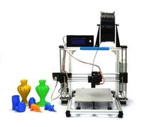 2015 High Quality Precision Reprap Prusa i3 DIY 3d Printer kit with stable Aluminum Frame HIC
