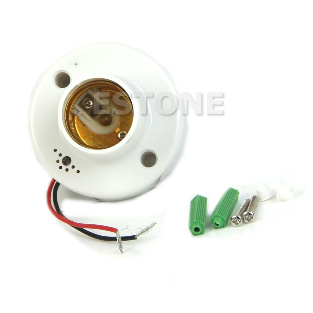 Гаджет  U119 Free Shipping E27 220V Lamp Holder Sound Voice Control Induction Light Bulb Switch Adapter None Свет и освещение