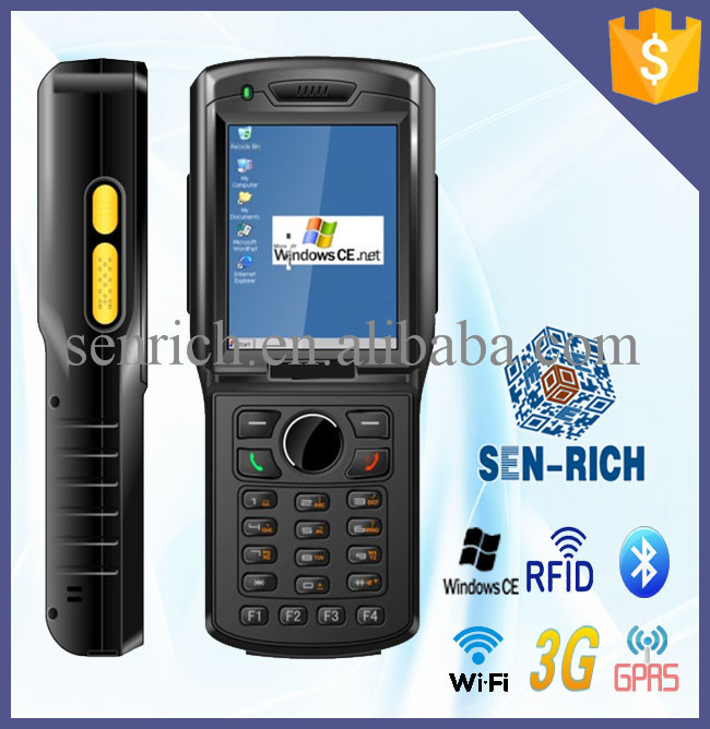 WinCE 5.0 PDA with GPS,3G,WIFI,Bluetooth,1D/2D Barcode Scanner (optional)(China (Mainland))