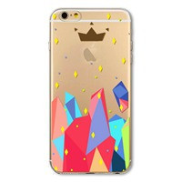 Transparent Soft Case For iPhone 6 4.7Inch Ultra Thin Printed Phone Accessory Back Skin Shell Bag