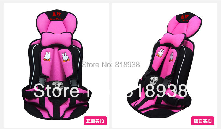 Baby Car Safety Seat Children Car Carrier 4 Colors Free Shipping Child Car Safety Seats(China (Mainland))