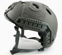 Fast Style Base Jump Helmet Navy Seal ABS Shell Grey