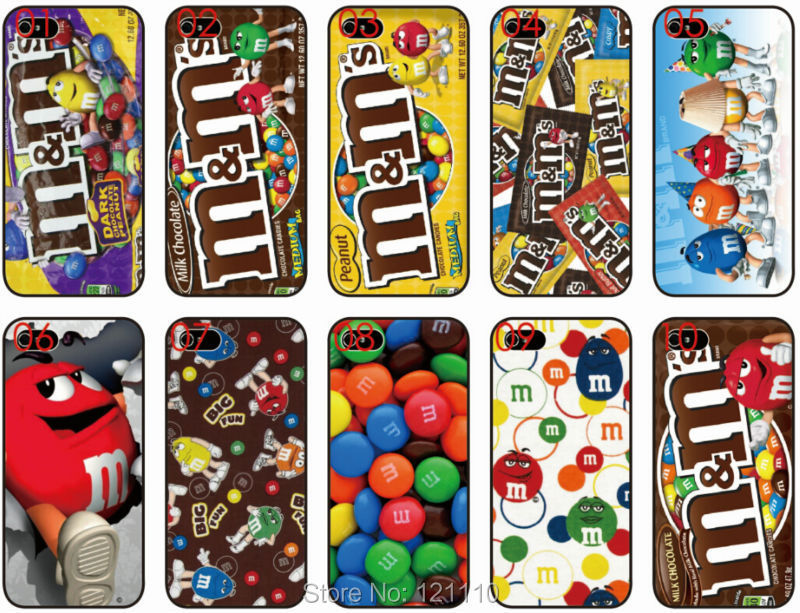 New Arrival Phone Cases for Apple iPhone 5c Case Cover Luxury PC M&M Chocolate Mobile Phone Shell for iPhone5C Case(China (Mainland))