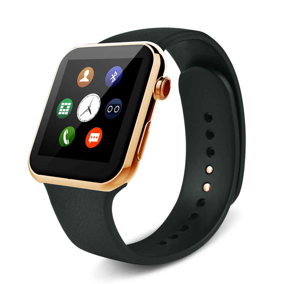 New A9 Smartwatch Bluetooth Smart watch with Heart Rate for Apple iPhone &amp; Samsung Android Phone smartphone watch<br>