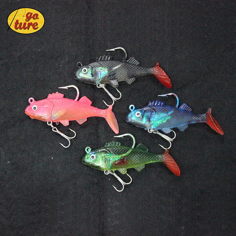 Buy goture 4pcs lot soft plastic fishing for Fish bait store