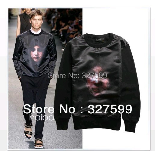 spring fashion Star Face catwalk models male and female couple free shipping(China (Mainland))