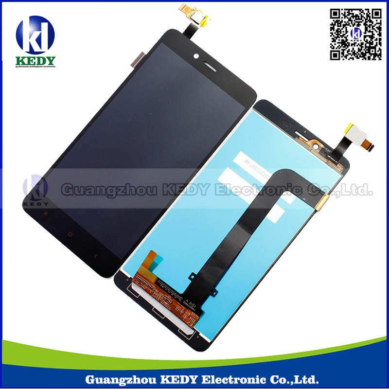 3pcs Original For Xiaomi Redmi Note 2 LCD Display + Touch Screen Digitizer Assembly Replacement Parts black