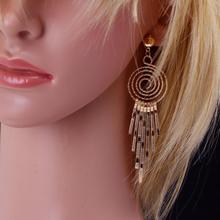Fashion Earrings Drop Earrings Gold Plated Women Earrings Jewerly For Women Girl Vintage Dangle Earrings Fine