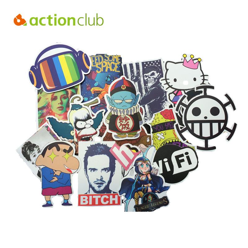 50 pcs Creative Mixed Emoji Stickers Car Sticker Anime Cartoon Stickers In Notebook Sticker For Children Kids Toys HT3148(China (Mainland))