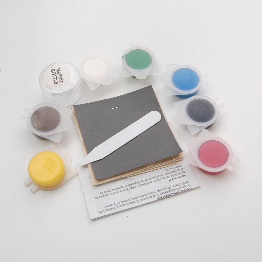 For Universial Car 7 colors Auto Seat Leather Vinyl Fix Repair Restore Tool Kits(China (Mainland))