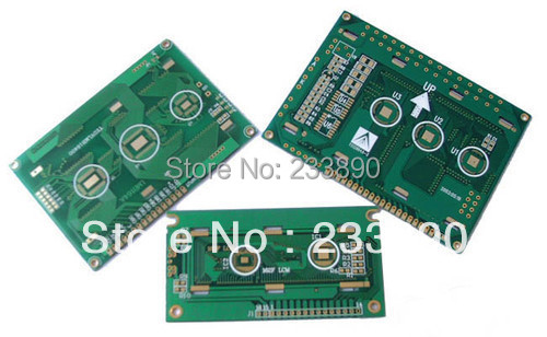 1-2 Layers PCB Production Manufacturer Prototype,Printed Circuit Board, 5x5CM