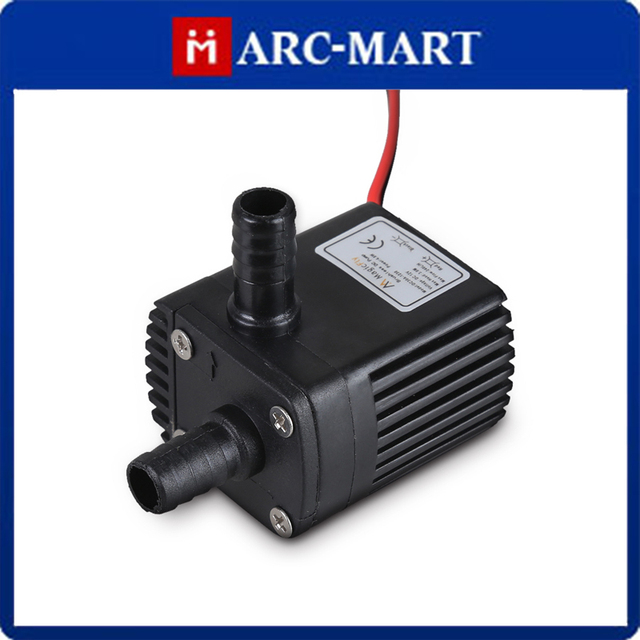 DC30A-1230 12V DC CPU Cooling CAR Brushless Water Pump Waterproof Submersible #EC026